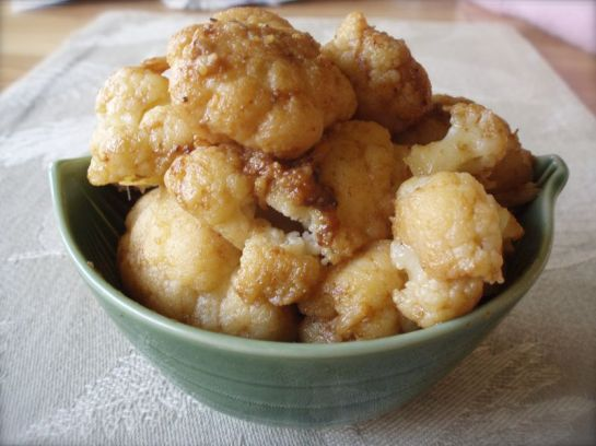 A Bowl of Luscious Cauliflower in Brown Butter