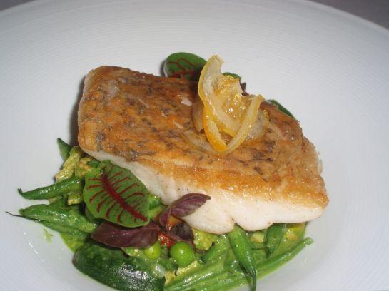 Pan Roasted Louisiana Blackfish