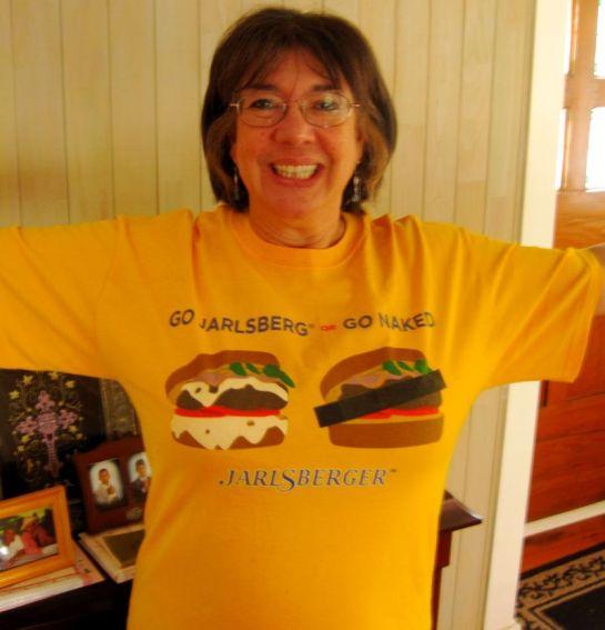 Jarlsberg T-shirt Cropped