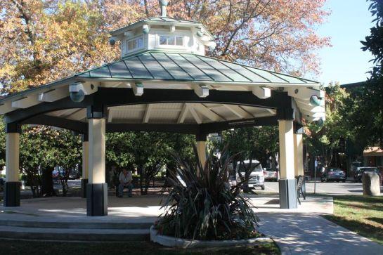 Healdsburg Plaza's Gazebo