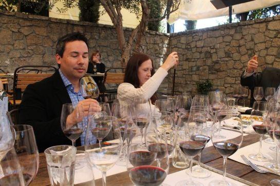 Blending Wines with KJ