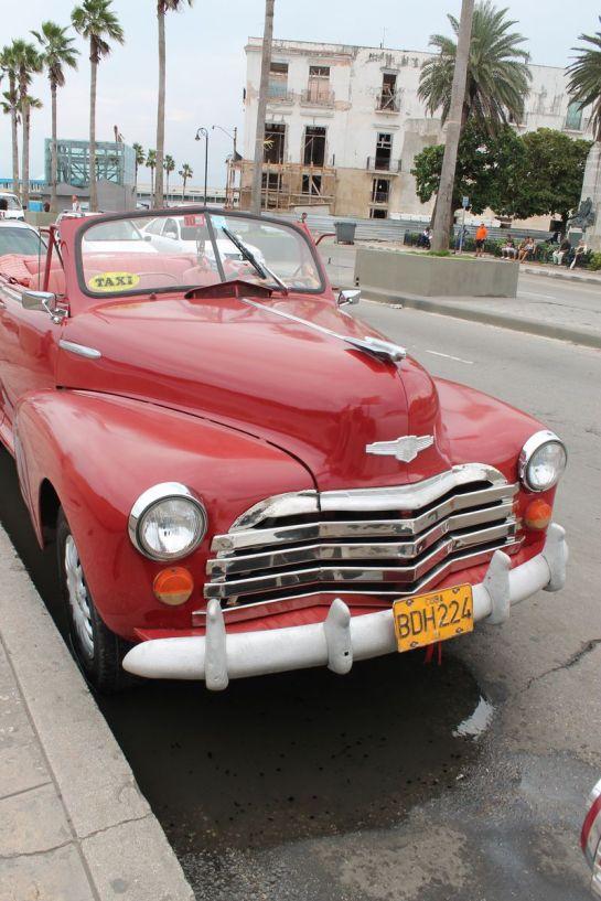 1950's taxi in Cuba