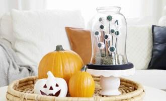 Spooky DIY Eyeball Terrarium