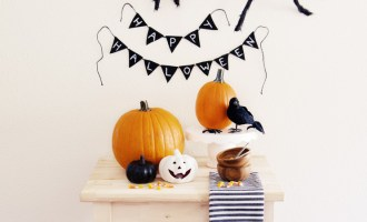 Simple Halloween Decorating