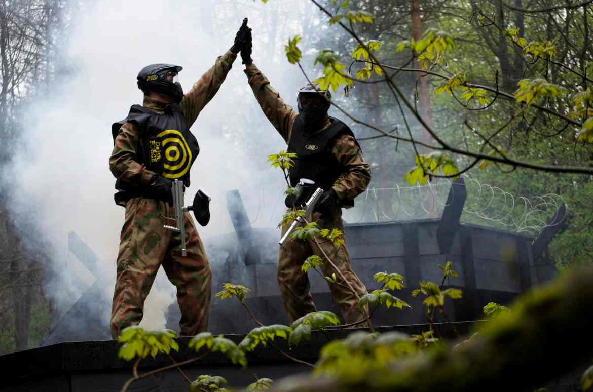 Image result for paintballing