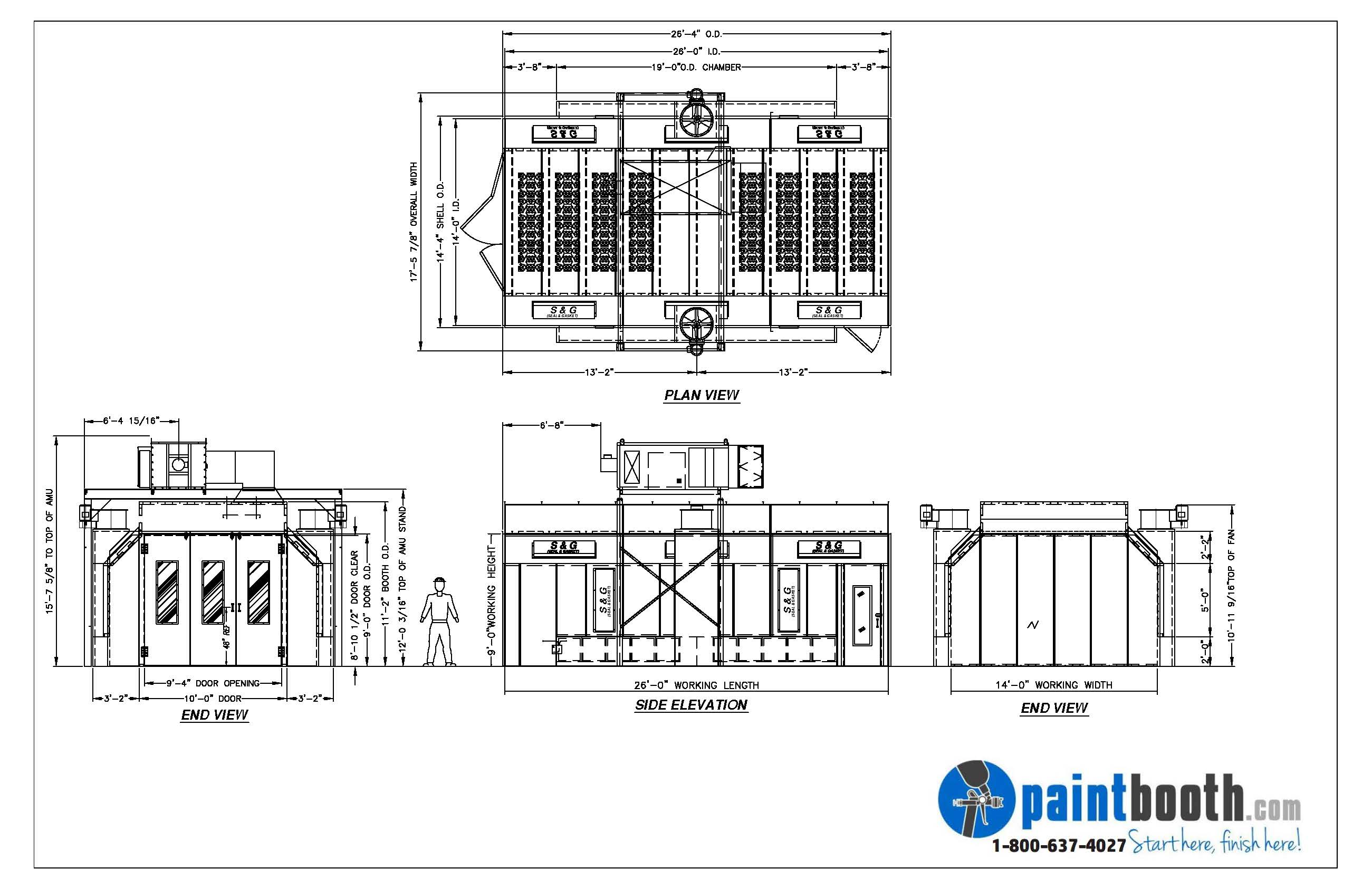 Automotive Paint Booths Designed Amp Installed For Your Shop