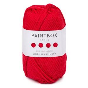 wool mix chunky