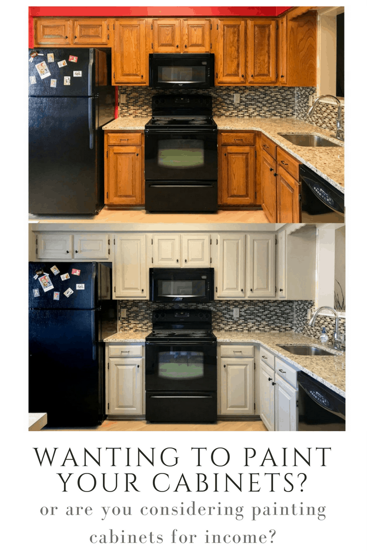 How To Paint Kitchen Cabinets Diy Kitchen Cabinet Painting How To Paint Your Cabinets Like A Professional Painted By Kayla Payne