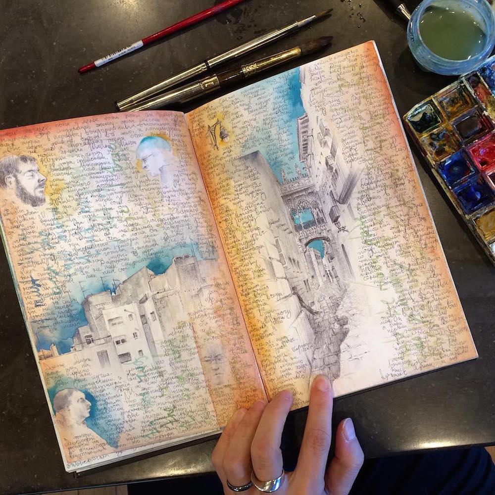 Sharing: Dina Brodsky's sketchbook