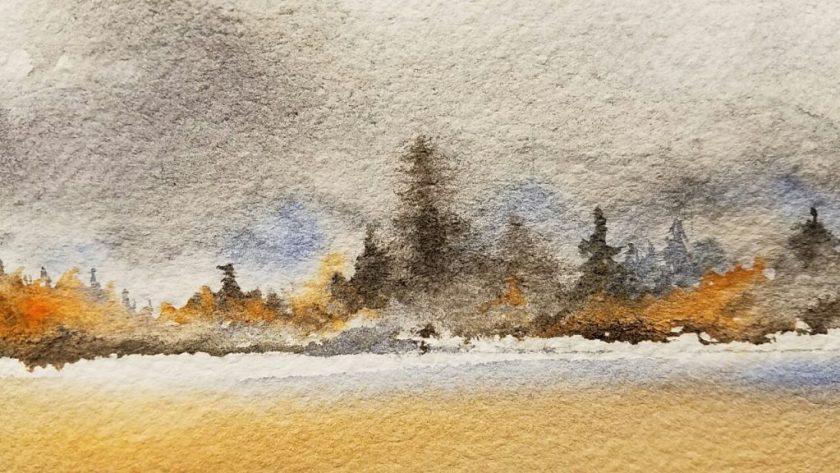 Fall scene detail