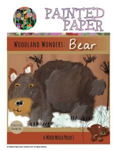 Woodland Wonders Bear cover