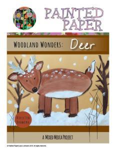 Woodland Wonders Deer cover