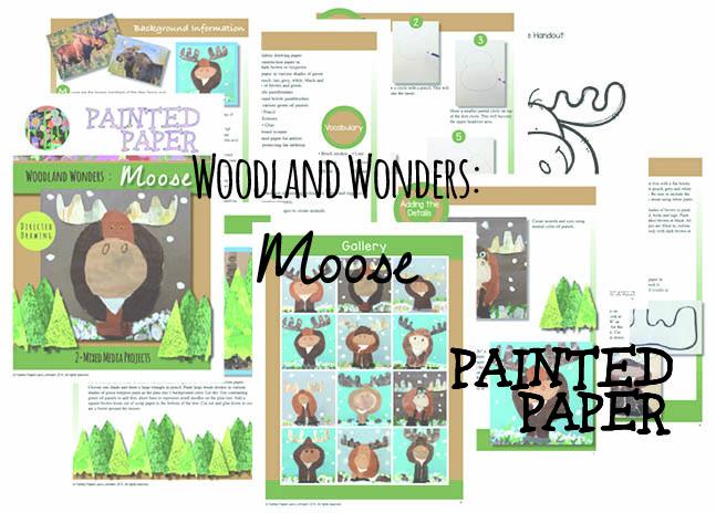 Woodland Wonders Moose preview