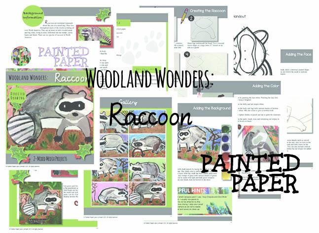 Woodland Wonders Raccoon preview