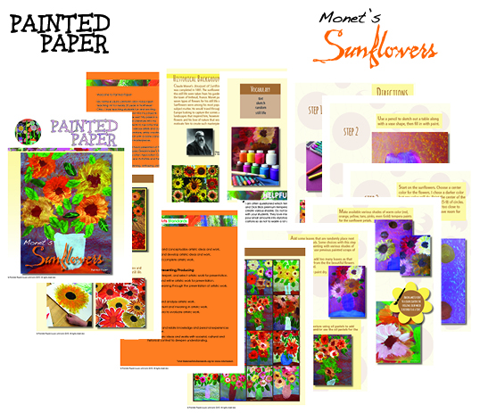 Monets Sunflowers preview