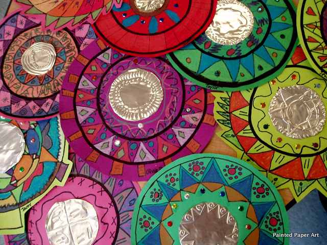 Make sure you follow along for more Art of Mexico. & Mexican Mirrors u2013 Painted Paper Art