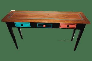 3-drawer sofa table