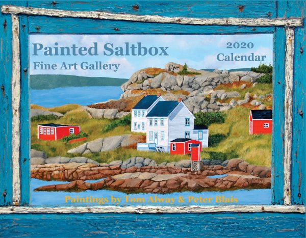 The Maritime Painted Saltbox 2020 calendar