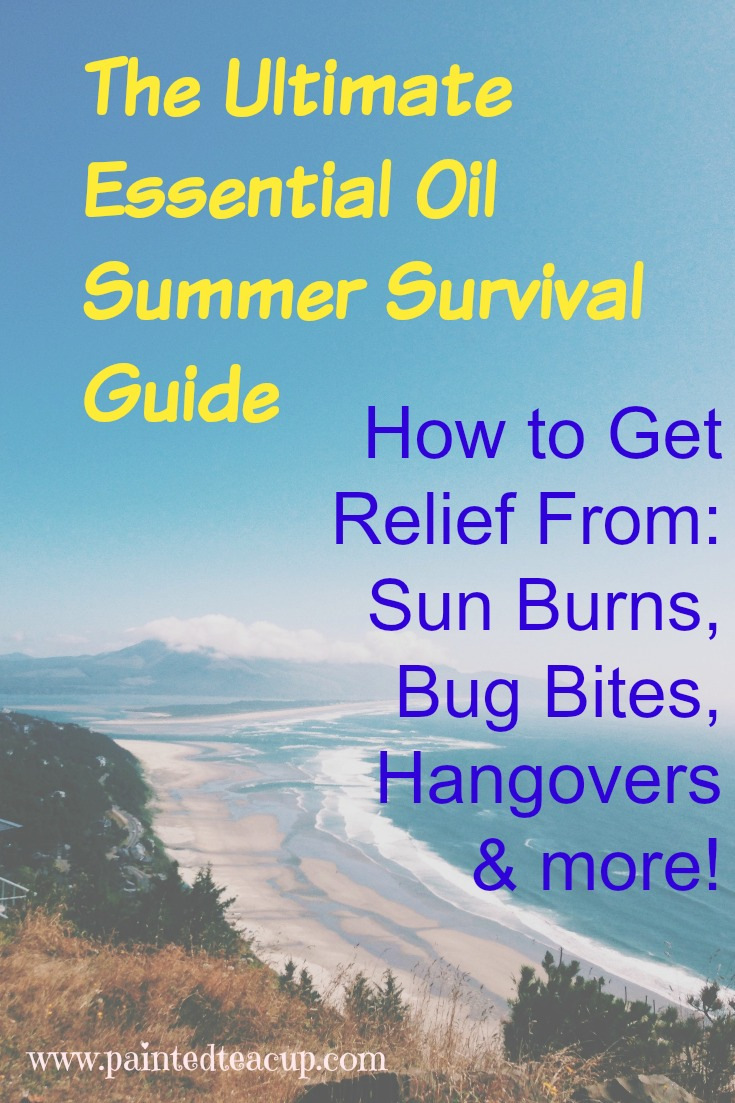 Ultimate Essential Oil Summer Survival Guide: How to get Relief from Sun Burns, Bug Bites, Hangovers & More!