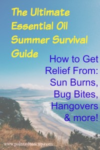 Ultimate Essential Oil Summer Survival Gude