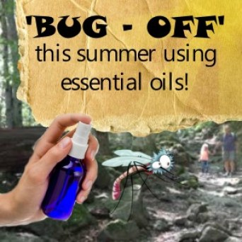 natural bug repellent DIY essential oil recipes. www.paintedteacup.com