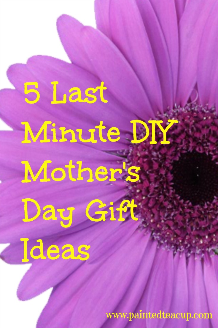 5 Last Minute Diy Mother 39 S Day Gift Ideas