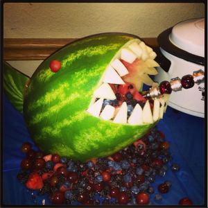 Create Fruit Characters from Watermelon