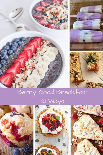 Berry Good Breakfast Ideas for Summer