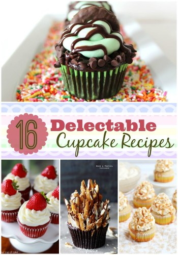 16 Delectable Cupcake recipes