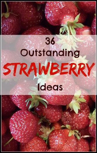 36 Outstanding Strawberry Ideas