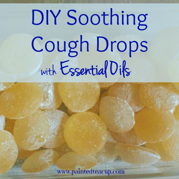 DIY Soothing Cough Drops with Essential Oils