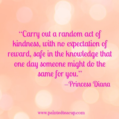 Act of kindness that you did for someone essays
