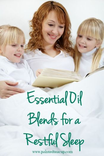 DIY Essential Oil Blends for a Restful Sleep. A sneak peak at some recipes from my new essential oil ebook!