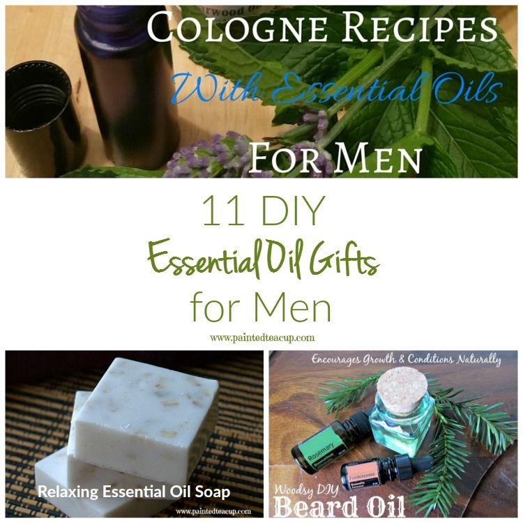 diy essential oil gifts for men