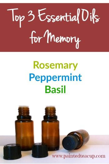 The best essential oils to help you with studying and memory! Great to help you focus on homework! Click the image to learn more about these essential oils for memory!