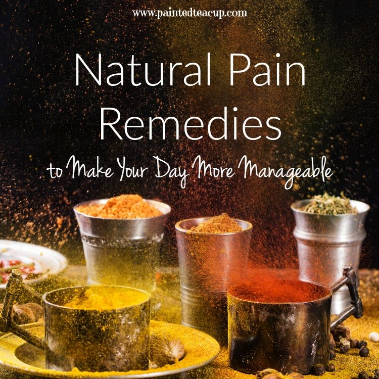 Natural pain remedies to help manage various types of chronic pain and chronic illness! Natural pain management techniques, supplements & homemade remedies