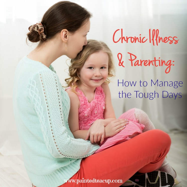 In this guest post Shannon talks about chronic illness and parenting and shares her strategies for parenting and getting through the tough days!