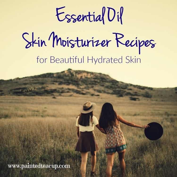 Are you looking for natural solutions to help manage dry skin? Today I want to share essential oil skin moisturizer recipes for soft hydrated skin!