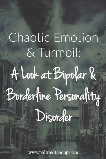 A raw and real look at the thoughts, feelings and struggles of living with both bipolar disorder & borderline personality disorder.
