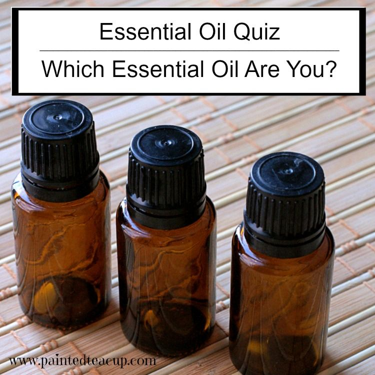 A fun quiz to see which one of 5 essential oils is most like you. There are 7 quick questions in this fun & silly essential oil quiz!