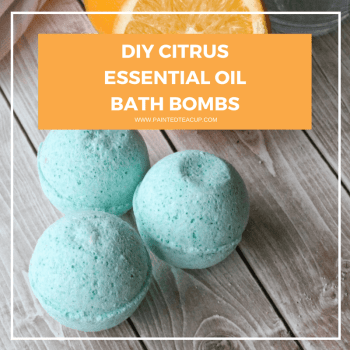 Beautiful essential oil bath bombs made with grapefruit and wild orange essential oils! These bath bombs make a great DIY gift for any occasion! #essentialoilbathbomb #essentialoildiy All natural essential oil bath bomb recipe   Essential oil DIY   Essential Oil Gift Idea