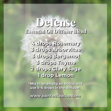 Defense diffuser blend Wonderful bergamot diffuser blends to inspire joy and hope. These recipes combine bergamot essential oil with other essential oils to help lift your mood! #diffuserblends #essentialoils #bergamot #bergamotessentialoil #diffuserrecipe