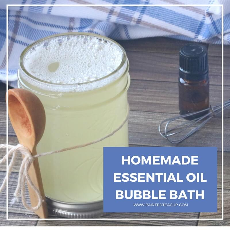 You will love this homemade essential oil bubble bath for Home made bubble bath