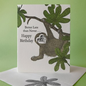 Cecropia - Better Late than Never Birthday