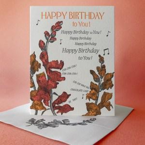 Snapdragon Happy Birthday Song