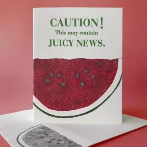 Watermelon - May Contain Juicy News