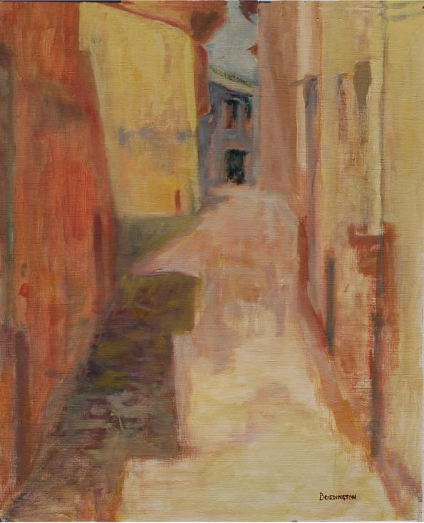 Chris Boddington rue de la porte Neuve