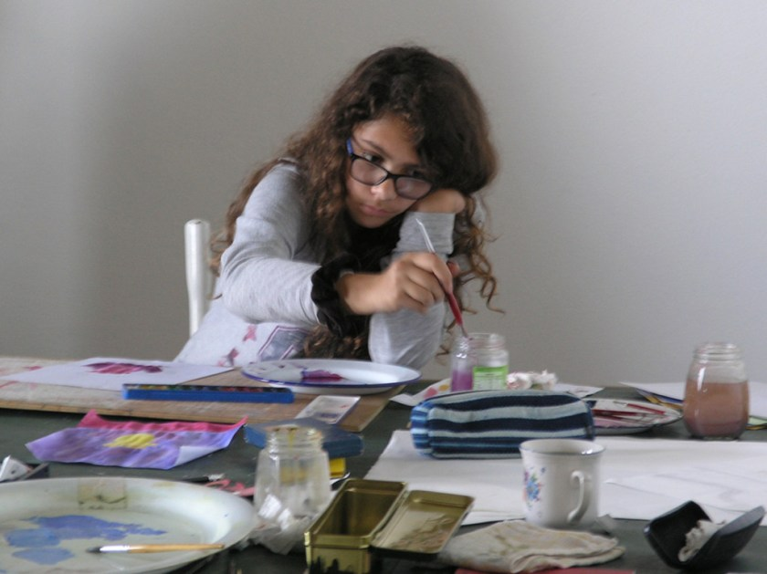 Loubna at work-1