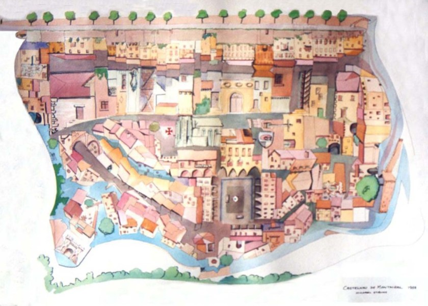 imaginative map of montmiral