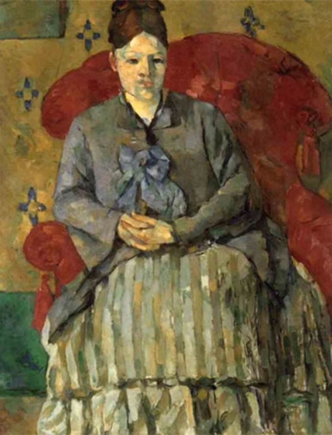 Early Modernists - Painting by Cézanne